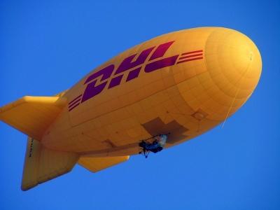 DHL in der Luft