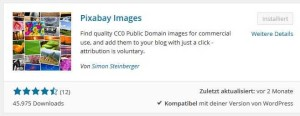 Pixabay WordPress Plugin [Bild]